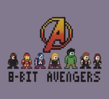 8 Bit Avengers by keicker