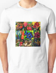 Tropical patchwork T-Shirt