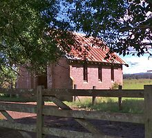 Little Old Church by Liz Worth