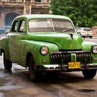 Classic Cuban Car. by sallyrose1