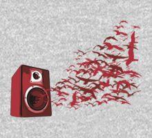 Speaker Birds by HOTDJGEAR