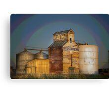 farmers grain co Canvas Print