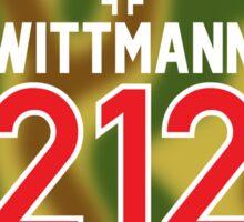 Panzer Aces - Michael Wittmann Camo Sticker
