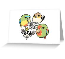 HOLLOW WARS! Greeting Card