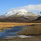 botnsúlur Iceland by Þórdis B.