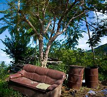 Thailand, Outside Sofa.  by sallyrose1