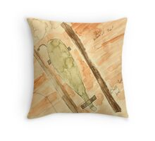 The Cornucopia Throw Pillow