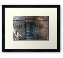 HDR3--Veteran's Pateo Framed Print