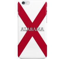 Smartphone Case - State Flag of Alabama  - Horizontal Named iPhone Case/Skin
