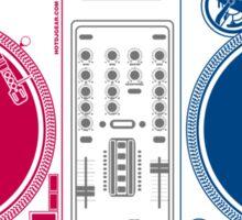 Turntable Love Sticker