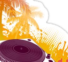 Summer Turntable Sticker
