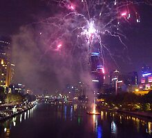 New Year's Eve - Fireworks... by Labonni by Shot in the Heart of Melbourne, 2013