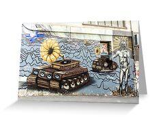 Street Art - Graffiti 2015 - ACDC Lane Greeting Card