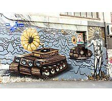 Street Art - Graffiti 2015 - ACDC Lane Photographic Print