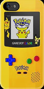 Gameboy Color Pokemon edition by Jordan Bails
