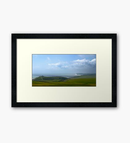 Beachy Head, Great Britain Framed Print