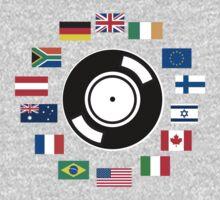 World wide DJ Kids Clothes