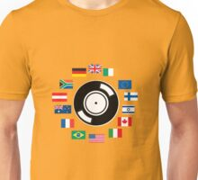 World wide DJ Unisex T-Shirt