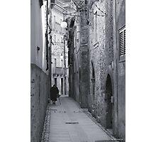 Il lungo cammino Photographic Print