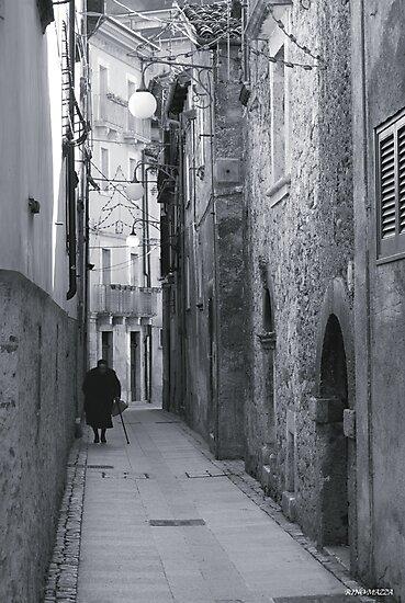 Il lungo cammino by Gennaro Mazza