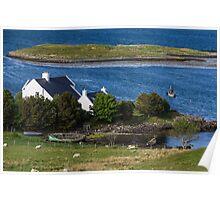 Loch Dunvegan Poster