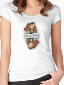 The Pirate Queen Women's Fitted Scoop T-Shirt