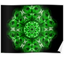 """Heart or Anahata Chakra, note """"F"""" Poster"""