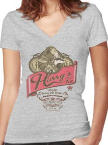 Wizards Brew Women's Fitted V-Neck T-Shirt