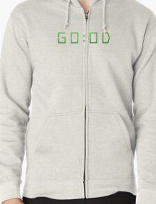 GOOD AM MAC MILLER GO:OD AM MORNING GREEN  Zipped Hoodie