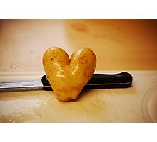 Spud Love! Photographic Print