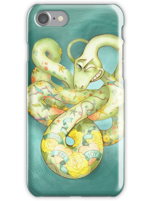 Stay Cool iPhone and iPod Case by ElenaMyko