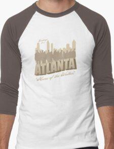 Greetings from Atlanta Men's Baseball ¾ T-Shirt