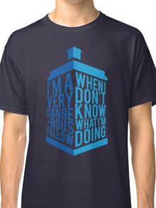 Dr Who - Baker Quote Classic T-Shirt