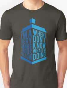 Dr Who - Baker Quote T-Shirt