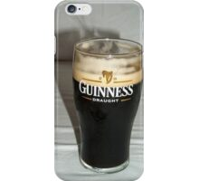 Nice pint of Guinness iPhone Case/Skin
