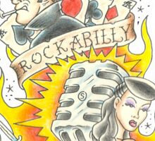 Rockabilly Psychosis Sticker