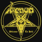 Venom - Welcome To Hell (yellow) by SwiftWind