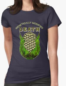 Genetically Modified Death Womens Fitted T-Shirt