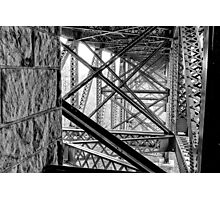 Under the Cut River Bridge Photographic Print