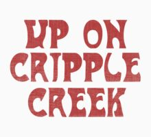 The Band - Up On Cripple Creek vintage pink by Delfia22
