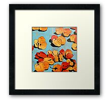 Chillies in the market (1) Framed Print