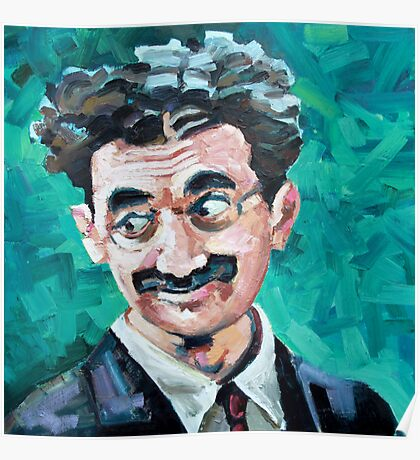 Groucho gives the eyes Poster