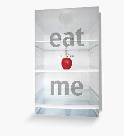 Eat Me Greeting Card