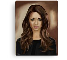 Lyndsy Fonseca - Nikita Canvas Print
