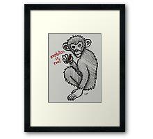Evolution is Real Framed Print