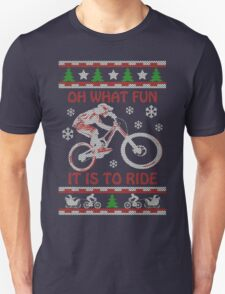 Mountain Bike Limited Christmas-Ugly christmas sweat T-Shirt