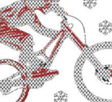 Mountain Bike Limited Christmas-Ugly christmas sweat Sticker