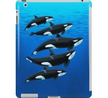 The Antibes Orcas iPad Case/Skin