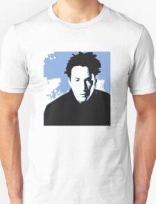 Keanu Reeves in the Matrix, Blue Tone T-Shirt