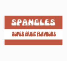Super Fruit Flavoured Spangles 1970s retro boiled sweets by unloveablesteve